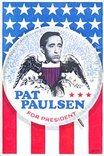 Pat Paulsen for President Book